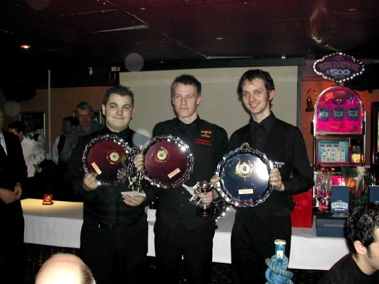 Plymouth International Channel Island Challenge Junior Snooker Winners Cornwall 2007