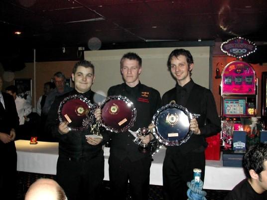 Plymouth International Channel Island Challenge Junior Snooker Winners Cornwall 2007