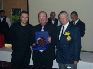Plymouth International Channel Island Challenge Operations Director Roger Cole (center) 2007