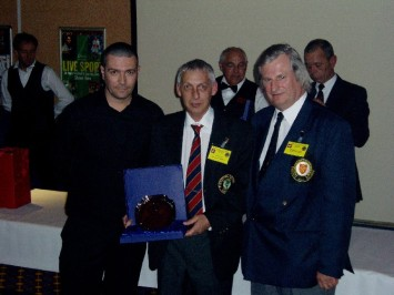 Plymouth International Channel Island Challenge Referee Director - Jeff Fox (centre) 2007