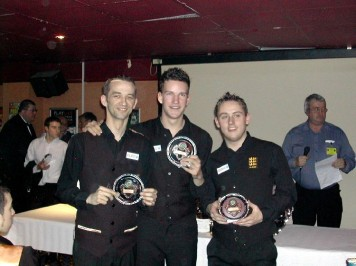 Plymouth International Channel Island Challenge Senior Snooker - Rileys Exeter 2007