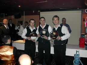 Plymouth International Channel Island Challenge Senior Snooker Runners-up - Rileys Newport 2007