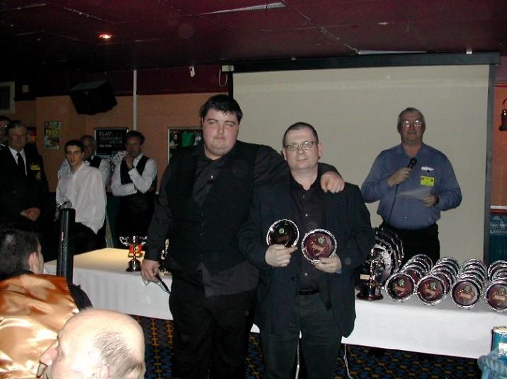 Plymouth International Channel Island Challenge Senior Snooker Team 2 2007