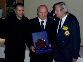 Plymouth International Channel Island Challenge Tournment Director - Keith Millard (center) 2007