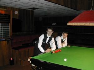 Silver Waistcoat Event 1 Finalists Darran Lock & David Bennett 2003