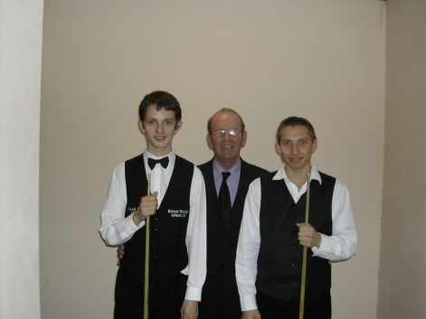 Silver Waistcoat Event 1 Finalists with Roger Cole 2003