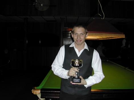 Silver Waistcoat Event 1 Winner David Bennett 2003