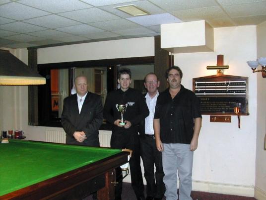 Silver Waistcoat Event 2 Winner Grant Cole 2004