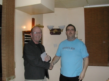 Silver Waistcoat Event 3 Roger Cole with Paul Williams Host & Sponsor 2004