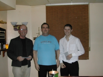 Silver Waistcoat Event 3 Semi-Finalist 2004