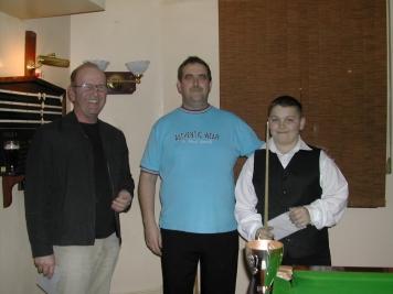 Silver Waistcoat Event 3 Semi-Finalist Bobby Southworth 2004