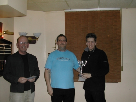 Silver Waistcoat Event 3 Winner Grant Cole 2004
