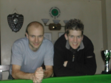 Silver Waistcoat Event 3 Winner Grant Cole with Andy Hicks 2004