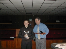 Silver Waistcoat Finals Day 2003-04 Kevin O'Neil & Darren Bond
