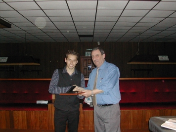 Silver Waistcoat Finals Day 2003-04 Kevin O'Neil & David Bennett