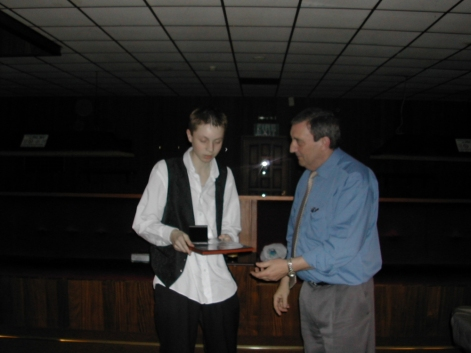 Silver Waistcoat Finals Day 2003-04 Silver Kevin O'Neil &