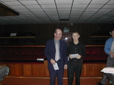 Silver Waistcoat Finals Day 2003-04 Silver Roger Cole & 2