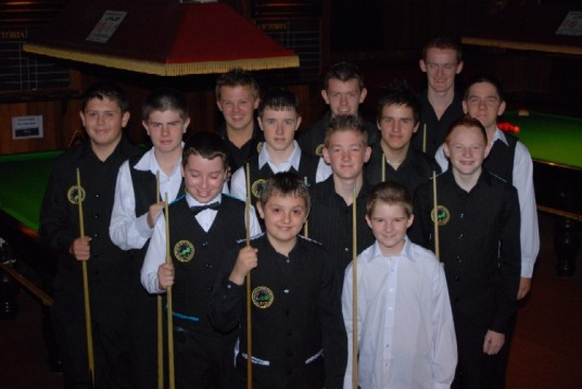 Silver Waistcoat Tour Event 1 Players 2008-09