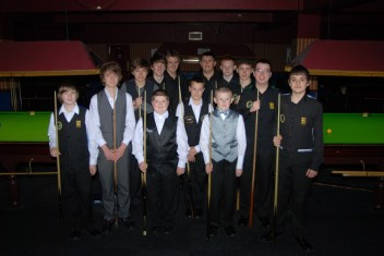 Silver Waistcoat Tour Event 1Players 2010-11