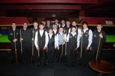 Silver Waistcoat Tour Event 1 Players 2011-12