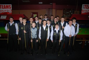 Silver Waistcoat Tour Event 2 Players 2011-12