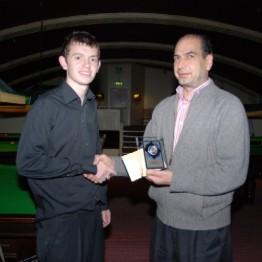 Silver Waistcoat Tour Event 2 Runner-up 2009-10
