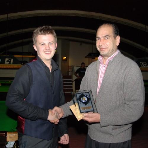 Silver Waistcoat Tour Event 2 Winner 2009-10