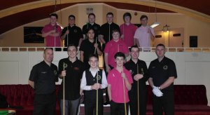 Silver Waistcoat Tour Event 3 Players 2013-14