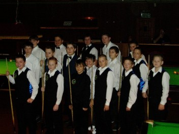Bronze Waistcoat Tour Plymouth Event 3 Players 2006-07