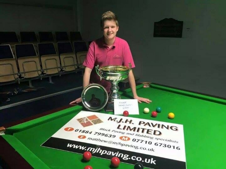 Dan Legassick SWSA Under 18's Champion 2015