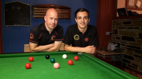 ONEFORSEVEN Championship finalists 2015 Steve Brookshaw & Haydon Pinhey