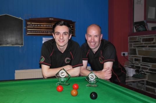 Gold Waistcoat Tour Event 6 finalists - Haydon Pinhey & Steve Brookshaw