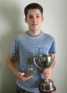 Bronze Waistcoat Open Winner 2015 - Typer Rees