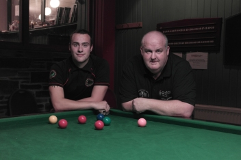 Aiden Johns & Johnhny Watters - WOE Open Snooker Plate Finalists 2015