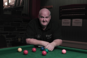 Johnny Watters - WOE Open Snooker Plate Winner 2015