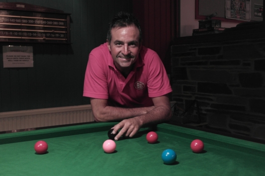 Eddie Manning WOE Open Snooker Winner 2015