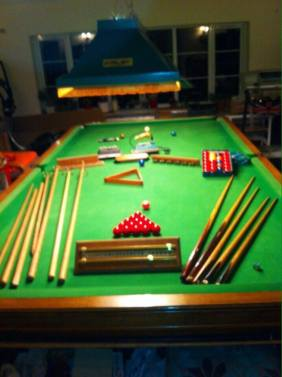 Advert 1 - Full Size Snooker Table Plus Accessories 3