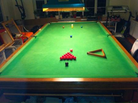 Advert 1 - Full Size Snooker Table Plus Accessories 6