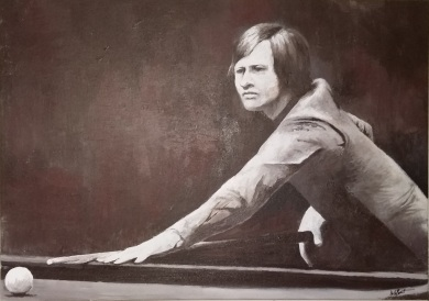 Alex Higgins by Dale Branton