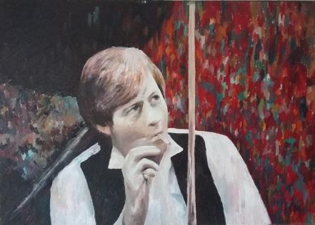 Alex Higgins by Dale Branton