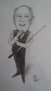 Steve Canniford - Characiture by Dale Branton