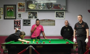 Gold Waistcoat Tour Event 5 - final in play 2015-16