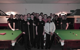 Gold Waistcoat Tour Event 6 - The Players 2015-16