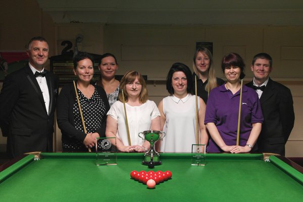 Ladies Open Snooker - The Players 2015-16