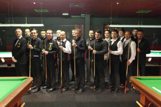 Gold Waistcoat Masters - The Players 2015-16
