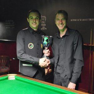 Gold Waistcoat Masters Winner - Haydon Pinhey 2015-16