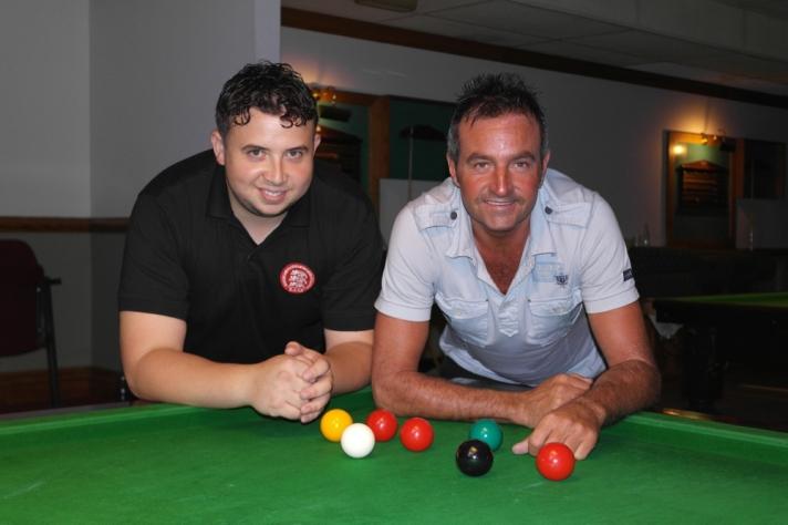 Billy Castle Winner & Eddie Manning Runner-up & High Break 125 - WOE Open Snooker Finalists 2016