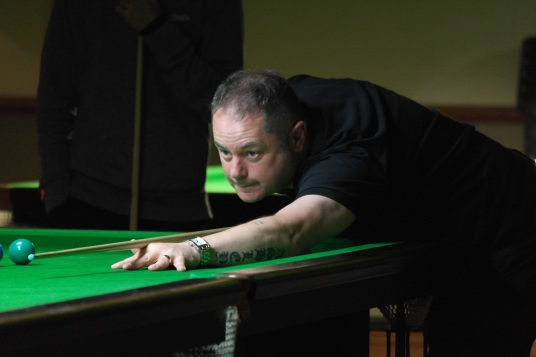 West of England Open Snooker Plate Winner 2016 - Mark Turner