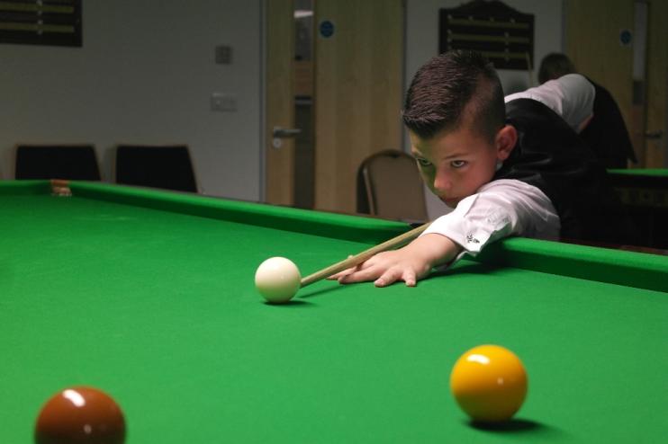 Liam Davies 2014 in action