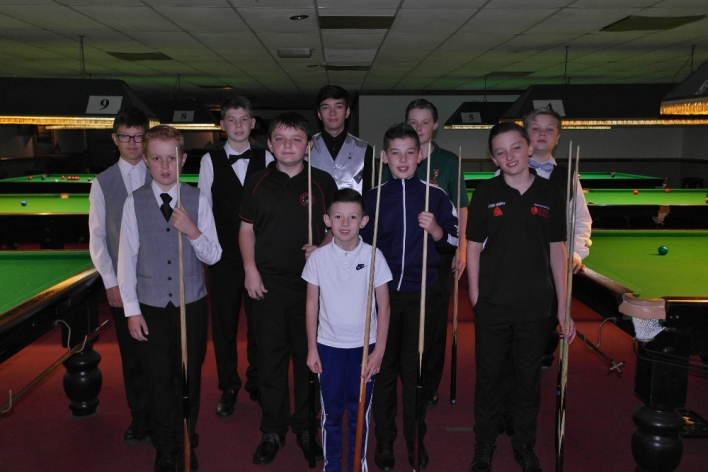 WEBSF Bronze Waistcoat Open Snooker Championship - The Players 2016